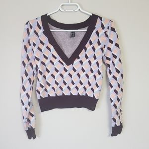 Forever 21 small cropped sweater